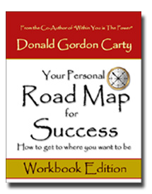 Your Personal Road Map For Success - Personal roadmap template